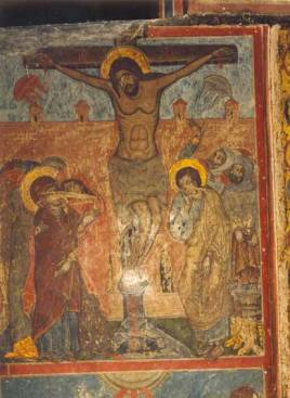 Svetitskhoveli_Crucifixion_fresco