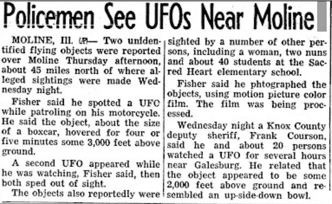 Policeman-UFO-Moline-Illinois